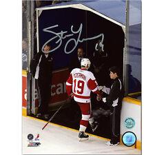 Steve Yzerman Detroit Red Wings Signed 8X10 Last Step Photo