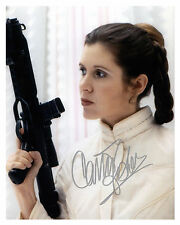 -- STAR WARS -- (CARRIE FISHER) Autographed 8x10 Reprint-