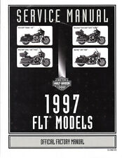 1997 Harley FLT FLHT Road King Electra Glide Ultra Classic Service Repair Manual