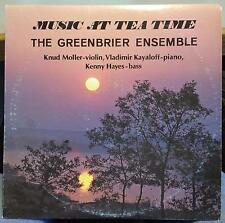 The Greenbrier Ensemble - Music At Tea Time Vol 2 With LP VG+ NR8473 Private 1st