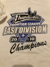 Windy City Thunderbolts 2010 East Divison Champions T-Shirt Size Large