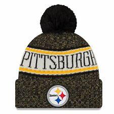 Pittsburgh Steelers Beanie NFL Football New Era Sideline  One Size Wintermütze