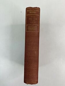 Antique Mark Twain The Gilded Age Vol 2 Author's National Edition Hardback Book