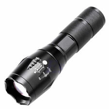 5000LM CREE XML T6 LED NERO poweful TORCIA BRILLANTE TORCIA Outdoor Sport