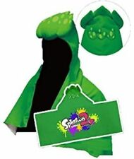 New Taito Splatoon 2 Green Hooded Towel - from Japan - US seller