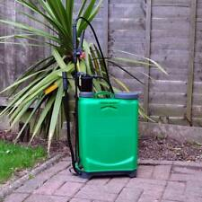 16L Knapsack Backpack Water Pressure Sprayer Crop Garden Patio Weed Killer Lance