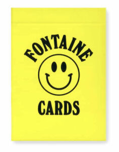 Rare CHINATOWN MARKET Playing Cards. New sealed deck FONTAINE
