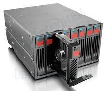 "RAIDON 8-Bay 2.5"" SATA HDD Hard Drive JBOD Storage w/ Cooling Fan&LED Indicator"