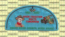 BSA SNAKE RIVER COUNCIL 2007 WOODBADGE ISSUE S-17 200 MADE CSP