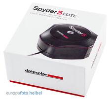 Datacolor SPYDER 5 Elite Spyder5 Elite MonitorKalibrierung NEUHEIT