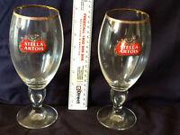 Rare Stella Artois Beer Glasses 500ml x 2
