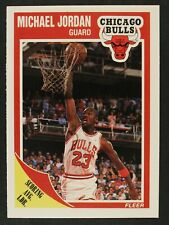 1989-90 Fleer Basketball #21 Michael Jordan Chicago Bulls NM