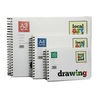 drawing sketching paper pads Local art pad 190gsm A3 A4 A5 spiral bound