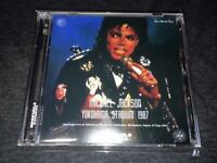 Michael Jackson Yokohama Stadium 1987 2 CD Solo World Tour Japan Soundboard New