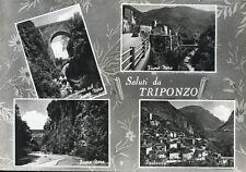 """* Saluti da TRIPONZO """" con 4 vedute ! Viaggiata Anno 1966"""