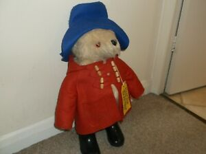 Original 1980 Gabrielle Designs Paddington Bear Toy | Vintage Retro, 19 Inches
