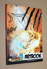 Naruto Shippuden Ultimate Ninja Storm 3 artbook PlayStation 3 Xbox 360 ps3