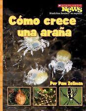 Como Crece una Arana = A Spiderling Grows Up (Scholastic News Nonfiction Reader