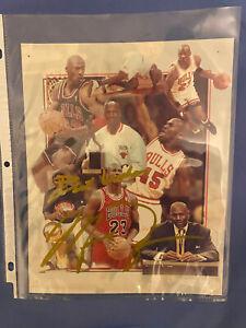 "Personal Message ""Best Wishes michael jordan"" 8x10 autograph No COA"