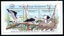 Christmas Island 274D MNH Birds: Abbott's Booby-Papasula abbotti 1990 x16303