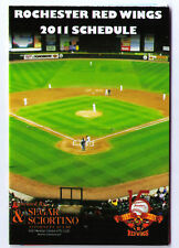 2011 Rochester Red Wings pocket schedules calendars TWO 2 lot