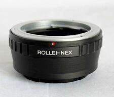 Rollei QBM Lens to Sony NEX E Mount Adapter NEX-F3 NEX5R Nex-5N Nex-7 RO-NEX