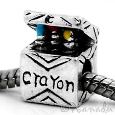 Crayon Box European Charm Bead For European Charm Bracelet And Necklace Chains