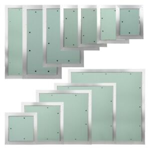 Trappe de visite panneau de contrôle accès porte révision plaque de plâtre mur