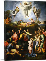 ARTCANVAS The Transfiguration 1520 Canvas Art Print by Raphael