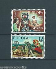 ESPAGNE - EUROPA - 1976 YT 1961 à 1962 - TIMBRES NEUFS** LUXE