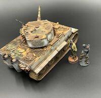 1/35 Scale Built Model Late German Tiger 1