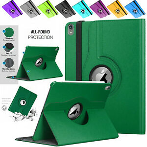 """Multi-Angle 360 Rotating Leather  Smart Case Cover For Apple iPad 10.2"""" 2020-19"""