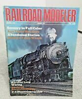 Railroad Modeler Magazine January 1972 Z N HO S O G vintage