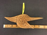 Northwest Coast First Nations Carving Native Art Hummingbird Combine Shipping