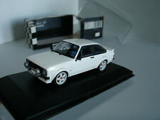 1/43 FORD ESCORT RS 1800 RALLY 1975 WHITE MODIFIED SWAPPED WHEELS by MINICHAMPS