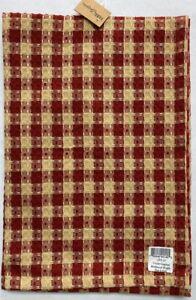 Crochet Gingham Waffle Dishtowel
