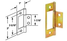 Bifold Nonmortise Hinge,No N 6656,  PRIME LINE PRODUCTS GOLD (B3)
