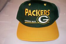 Green Bay Packers Snapback Hat by Twins Enterprise NWT
