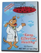 New listing Medi-Crunch Dog Pill Pouch Treats for Pills Capsules Tablets Meds - 30 Treats