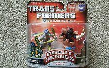 Transformers Universe- Robot Heroes -Beast Wars Series Silverbolt & Megatron