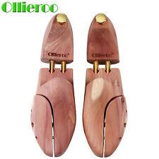 Mens Cedar Wood Wooden Shoe Tree Shaper Stretcher Keeper US Size 10-11