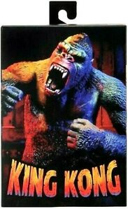 """NECA KING KONG ILLUSTRATED VARIANT EXCLUSIVE 8"""" Inch Action Figure Reel Toys NEW"""