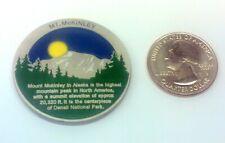 ~ Mt McKinley Benchmark geocoin Alaska Denali Mountain Unactivated