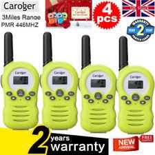 4X 8Ch Walkie Talkies PMR 446MHZ Two Way Radio FM Kit Interphone Kid Toy Set Vox