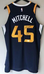 Donovan Mitchell Utah Jazz Autographed Nike NBA Authentic Aeroswift Jersey JSA