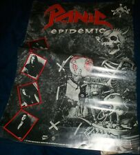 """Panic """"Epidemic"""" 13 x 19 promo poster"""