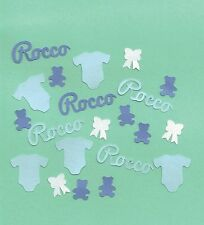 Personalised Table Confetti Baby Pack Christening Birthday Boy Unisex Shower Dec
