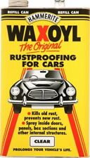 Waxoyl Clear 5 Litre Can Rust Proofing Under seal Underseal 5l Hammerite Waxoil