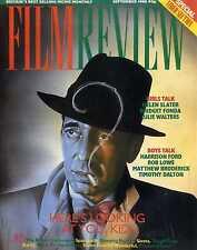 FILM REVIEW MAGAZINE 1988 SEP HUMPREY BOGART, HELEN SLATER, BRIDGET FONDA
