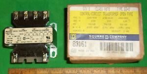 SQUARE D CONTROL CIRCUIT TRANSFORMER CLASS 9070 TYPE EO-1 Clean! NOS! 83161